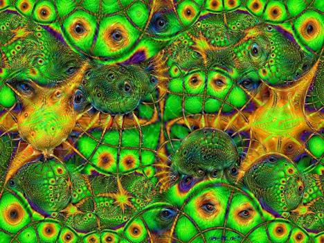 Outer Reptilian Matrix deep dream