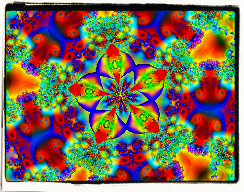 Fractal Spirals Mandala